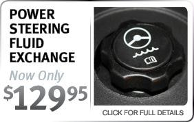 Infiniti Power Steering Flush Service Special Scottsdale AZ