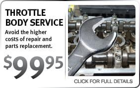 Infiniti Throttle Body Service Coupon Scottsdale AZ