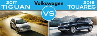 New Volkswagen Tiguan vs. New Volkswagen Touareg in Fair Lawn NJ