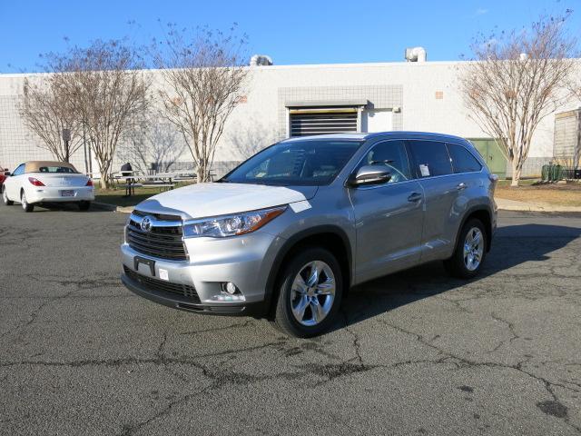 New 2016 Toyota Highlander, $43000