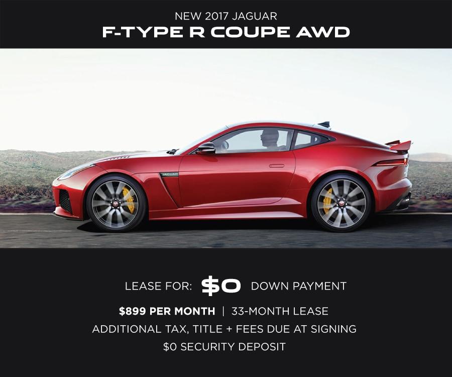 Jaguar F-Type Special Offer