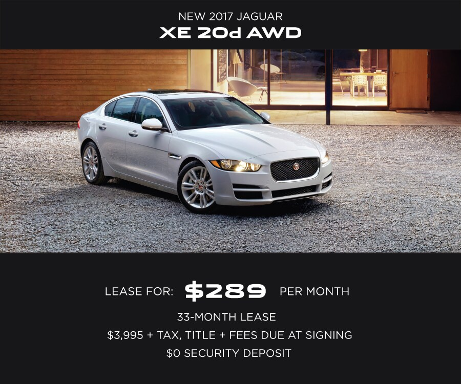 Jaguar XE Special Offer