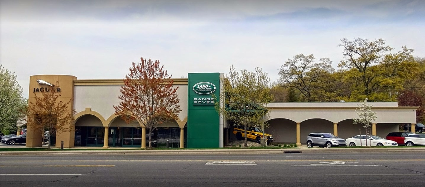 dealership dealers fairfield the of and side jaguar rover land connecticut