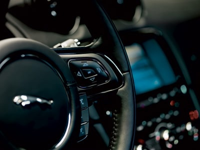 The Jaguar XJ really c...