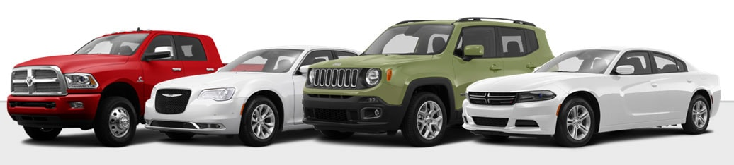 New Chrysler Dodge Jeep RAM Vehicles
