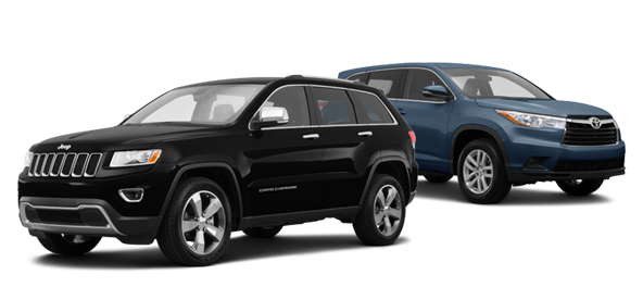 2015 Jeep Grand Cherokee vs Toyota Highlander