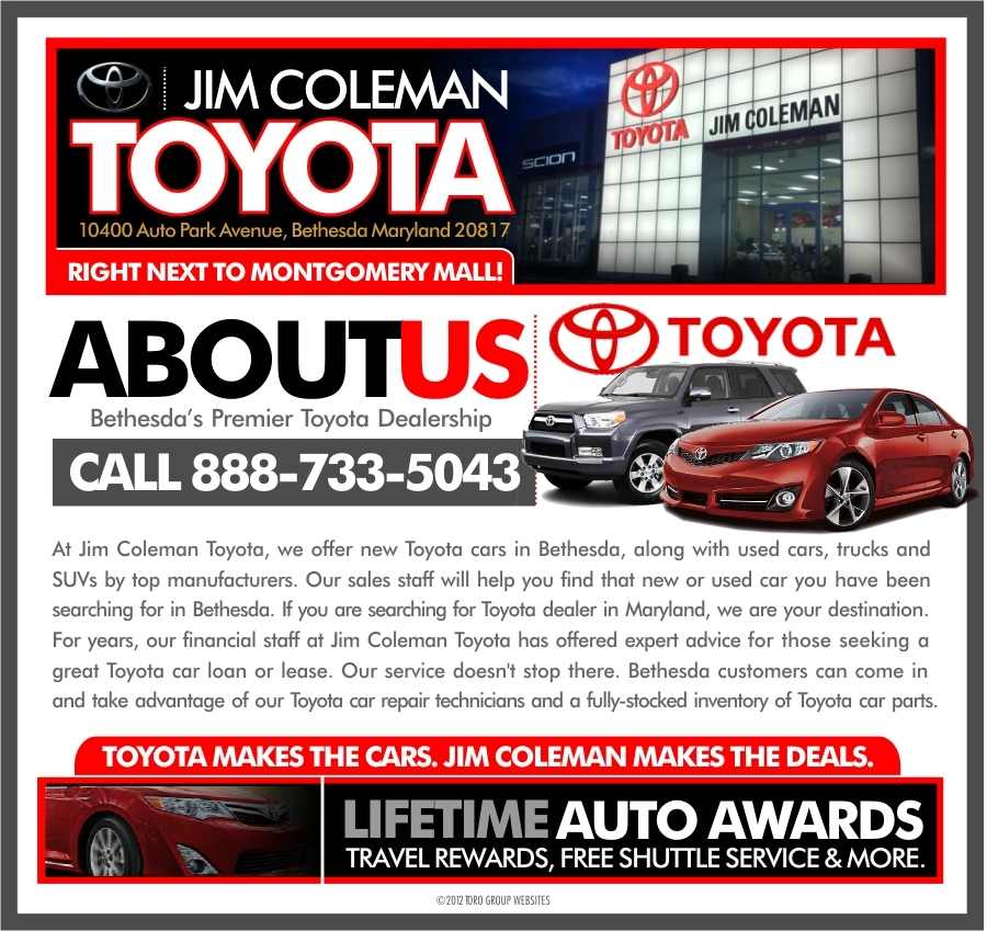 Toyota Employee Lease Program: Jim Coleman Toyota