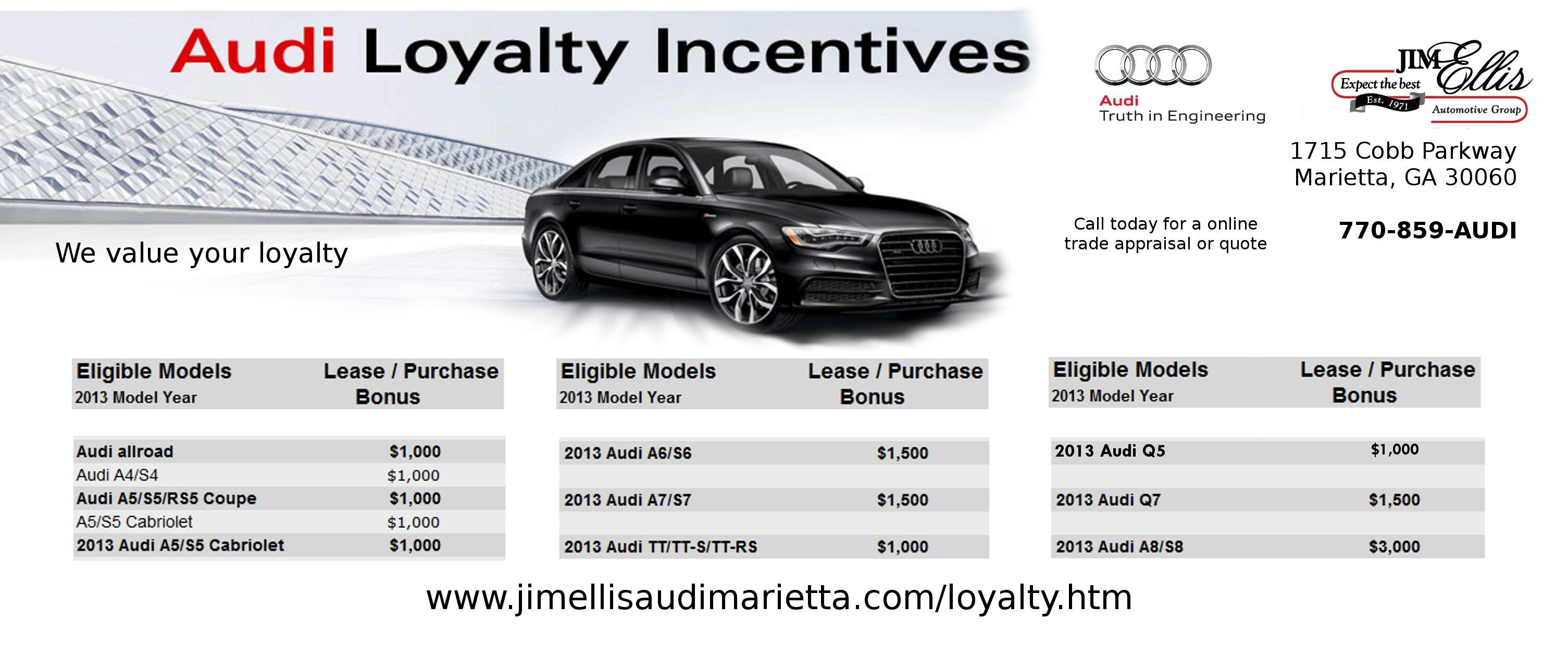 Audi Owner Loyalty At Jim Ellis Audi Marietta Special
