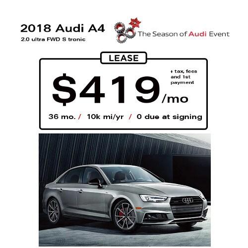 Audi Lease Offer: Audi Marietta Lease Specials