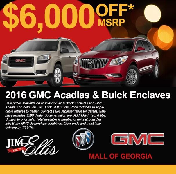 Jim Ellis Buick GMC Mall of GA - Buick, GMC, Service Center ...