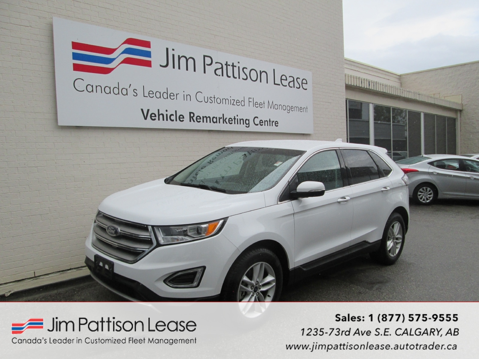2015 Ford Edge 3.5L AWD SEL 5 Pass. w/Back Up Camera SUV