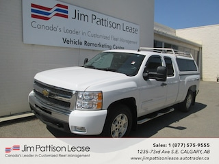 2011 Chevrolet Silverado 1500 5.3L 4X4 LT Ext. Cab w/ Canopy & Up Fitting Truck Extended Cab