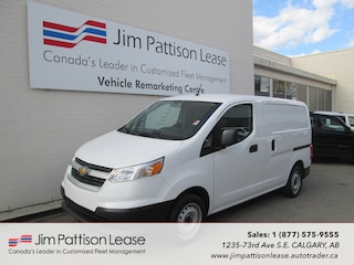 2015 Chevrolet City Express 2.0L FWD LS Up Fitted Cargo w/ 2 Sets Of Tires Van Cargo Van