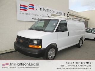 2012 Chevrolet Express 1500 5.3L AWD Fully Up Fitted Cargo Van Van