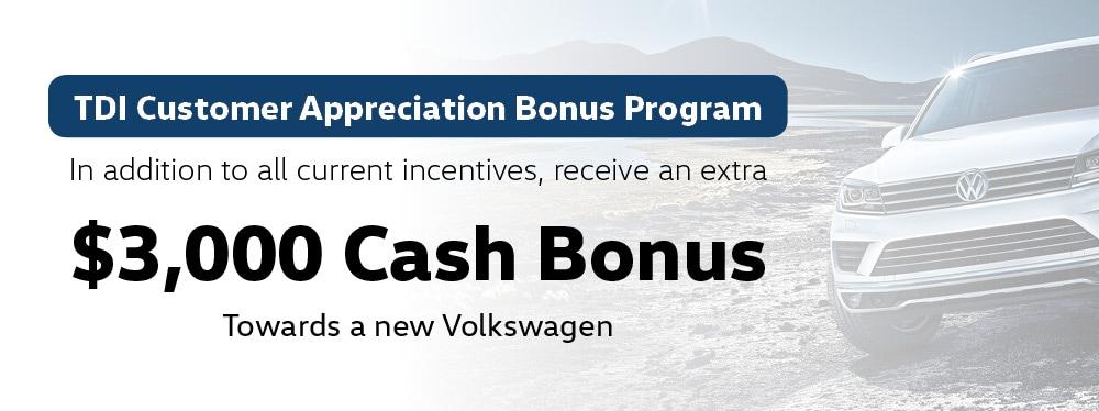 Tdi Customer Appreciation Bonus Program Jim Pattison