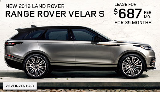 2018 land rover lease. modren lease lease a new 2018 land rover range velar s for 687month and land rover lease