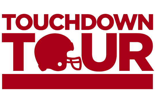Houston Super Bowl Touchdown Tour Logo