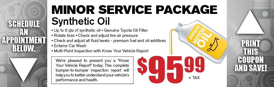 coupon toyota offers oilcoupon coupons change and oil