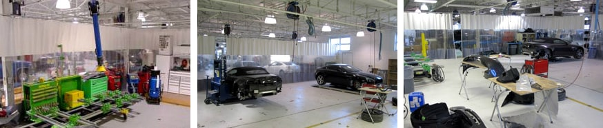 body shop state of the art facility for import, domestic, luxury, and exotic body repair