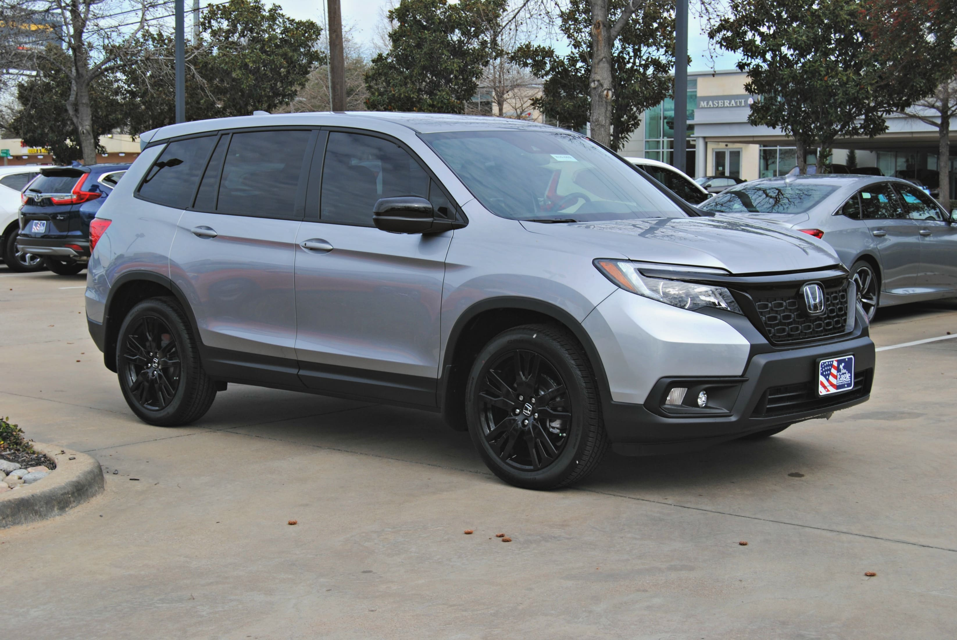 New 2019 Honda Passport Sport Fwd Suv H19 652 John Eagle Dealerships