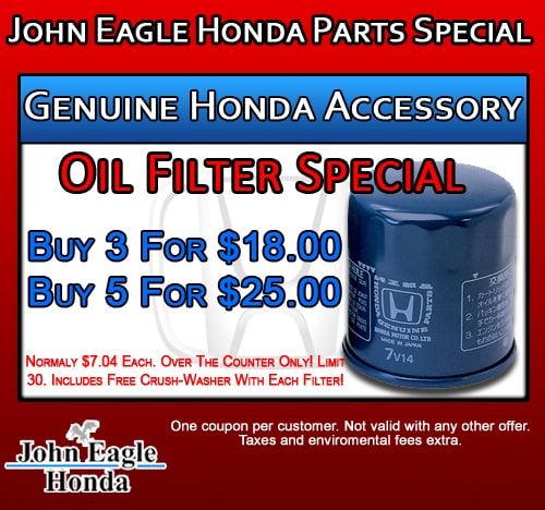 Honda Of Fort Worth Coupons >> Honda Parts & Accessories Specials | Parts Coupons Dallas Auto Parts Center