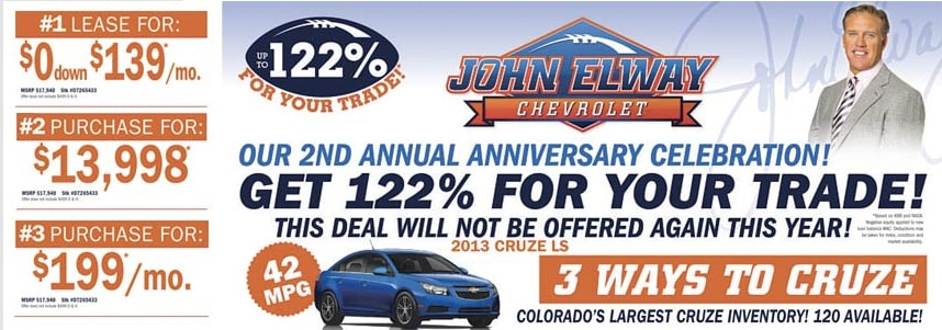 Chevrolet dealers denver chevrolet dealers chevrolet for John elway motors denver co