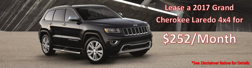 Jeep Grand Cherokee Lease Deals Denver