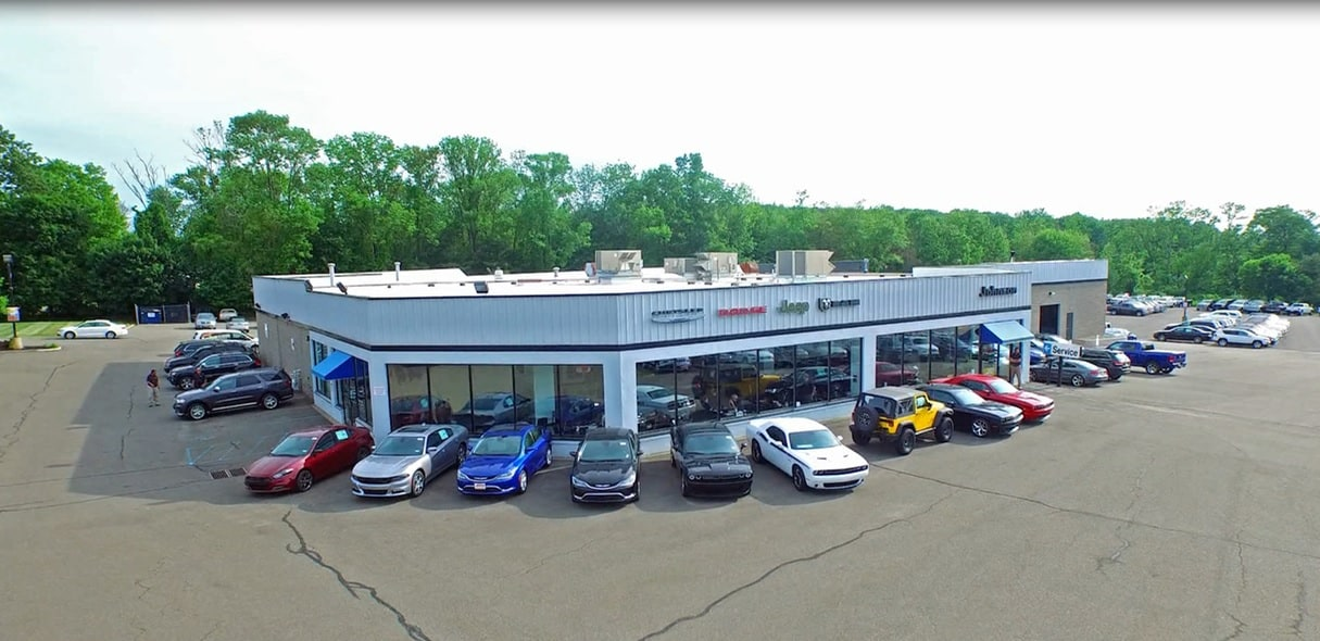Our dealership, located in Budd Lake, NJ, has an extensive inventory of Dodge, Chrysler, Jeep, and Ram vehicles. Visit us at Johnson Dodge Chrysler Jeep today to explore our new and used car, truck, and SUV inventory.