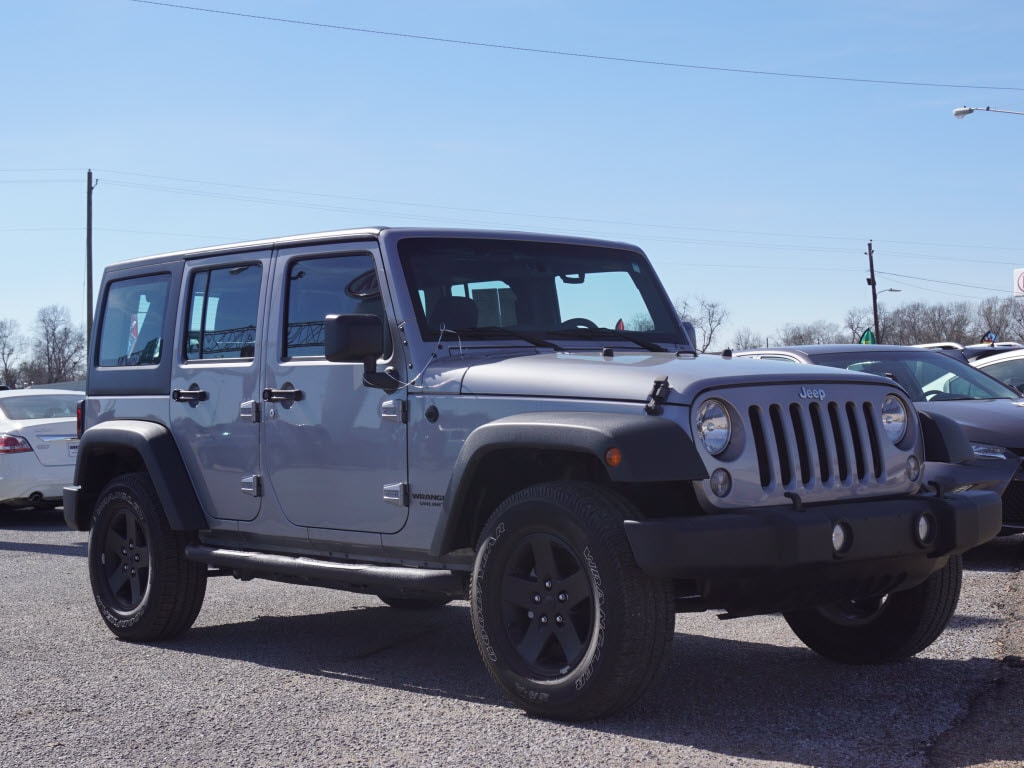 Used 2016 Jeep Wrangler Unlimited Sport For Sale in ...