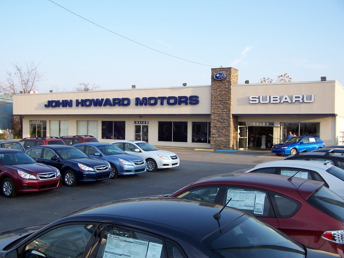 John Howard Motors New Nissan Subaru Dealership In ...