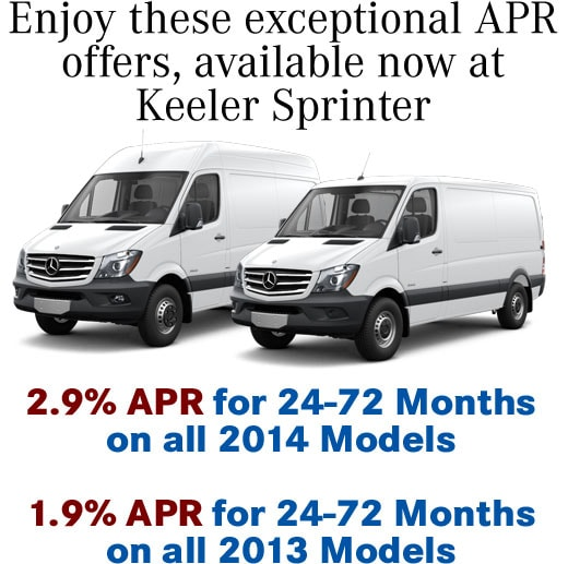 Sprinter Rates March 2014