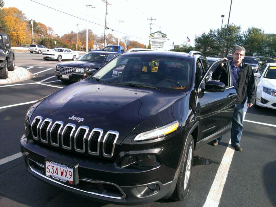 First Cherokee Buyer At Kelly Jeep Chrysler In Lynnfield Kelly