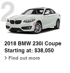 2018 BMW 230i Coupe, Starting at: $38,050, Find out more