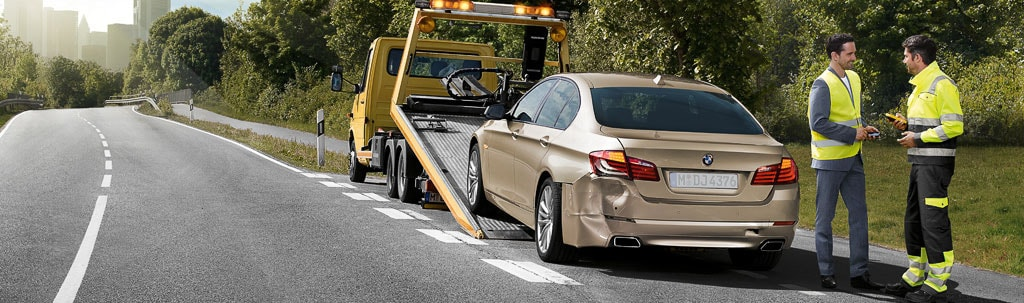 how does it work bmw roadside assistance