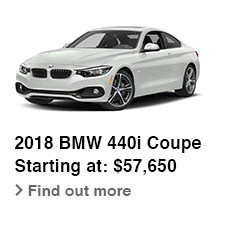 2018 BMW 440i Coupe, Starting at: $57,650, Find out more