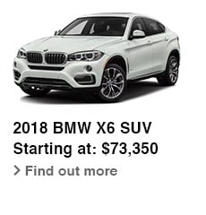 2018 BMW X6 SUV, Starting at: $73,350, Find out more