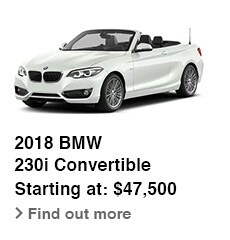 2018 BMW 230i Convertible, Starting at: $47,500, Find out more
