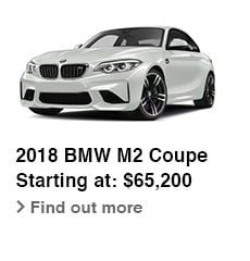 2018 BMW M2 Coupe, Starting at: $65,200, Find out more
