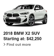 2018 BMW X2 SUV, Starting at: $42,250, Find out more