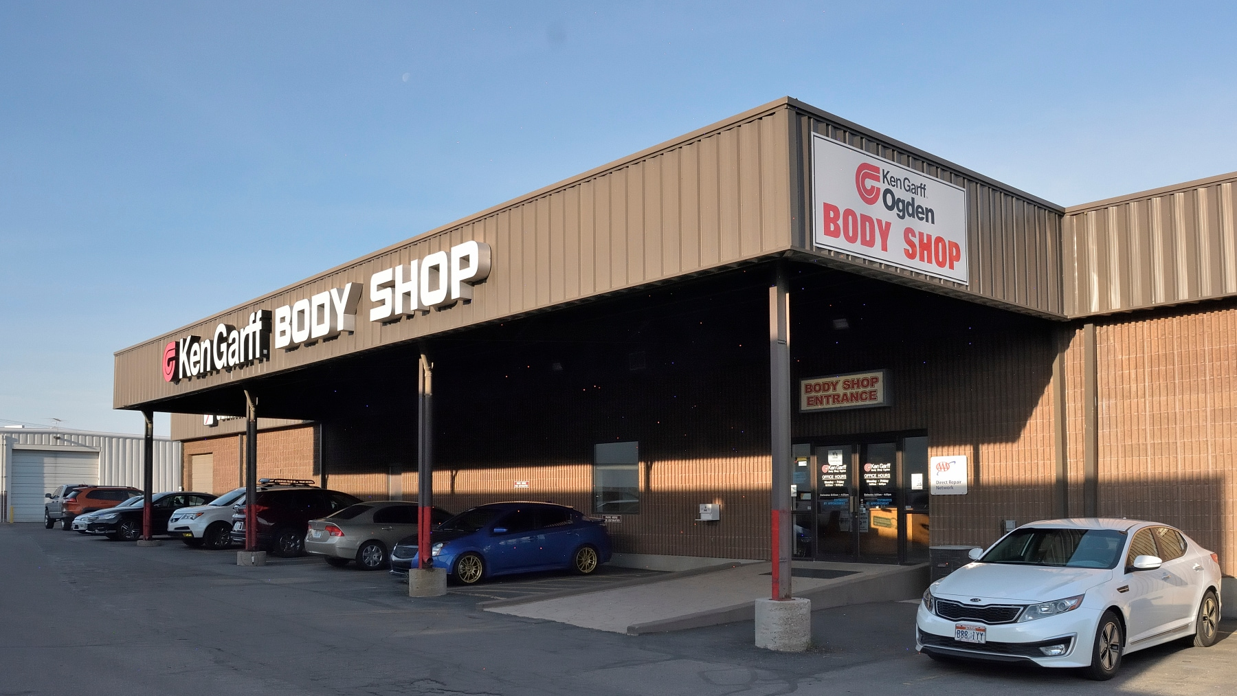 Auto Body Shop and Car Repair | Ken Garff Nissan Riverdale