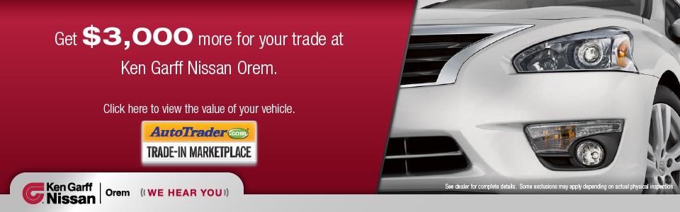 Ken Garff Honda Orem >> Ken Garff Nissan of Orem: New Used Utah Nissan Dealership