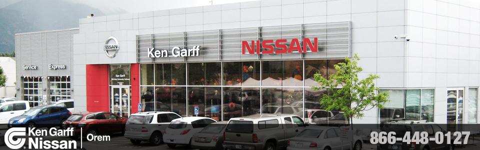 Ken Garff Nissan of Orem: New Used Utah Nissan Dealership
