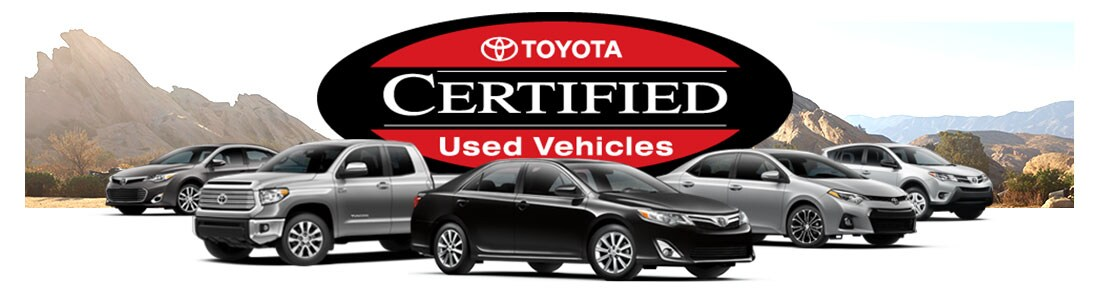 Certified Used Toyota >> Certified Used Toyota Program Deals Kerry Toyota In Florence Ky