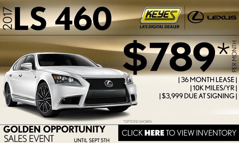 New 2017 Lexus LS 460 Premium Lease Special Serving Los Angeles, Van Nuys, and Beverly Hill, CA
