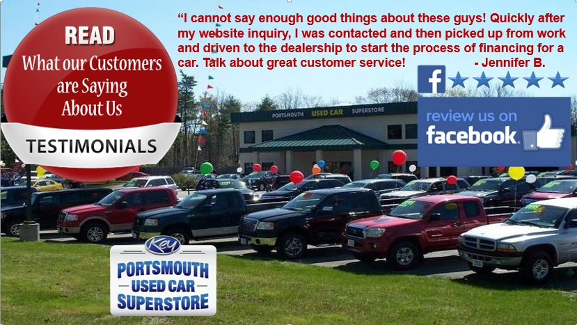 Portsmouth Used Car Superstore Service