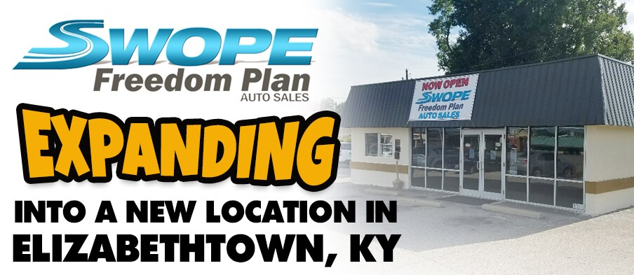 Swope freedom plan vehicles for sale in elizabethtown for Swope motors elizabethtown ky
