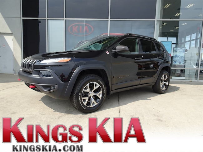 Used 2014 Jeep Cherokee Trailhawk SUV for sale in Cincinnati OH