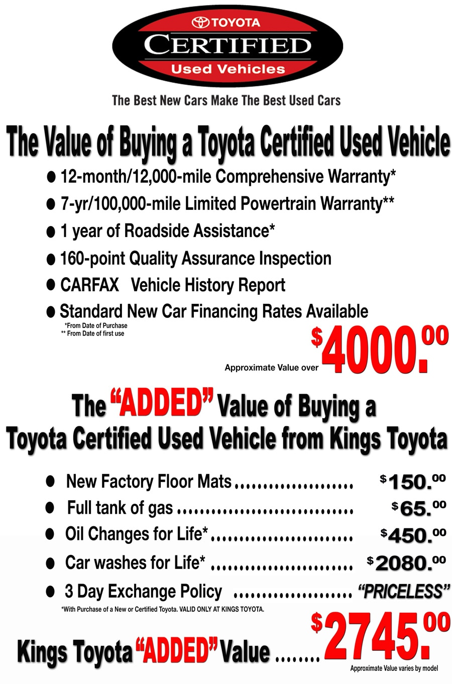 Kings toyota coupons