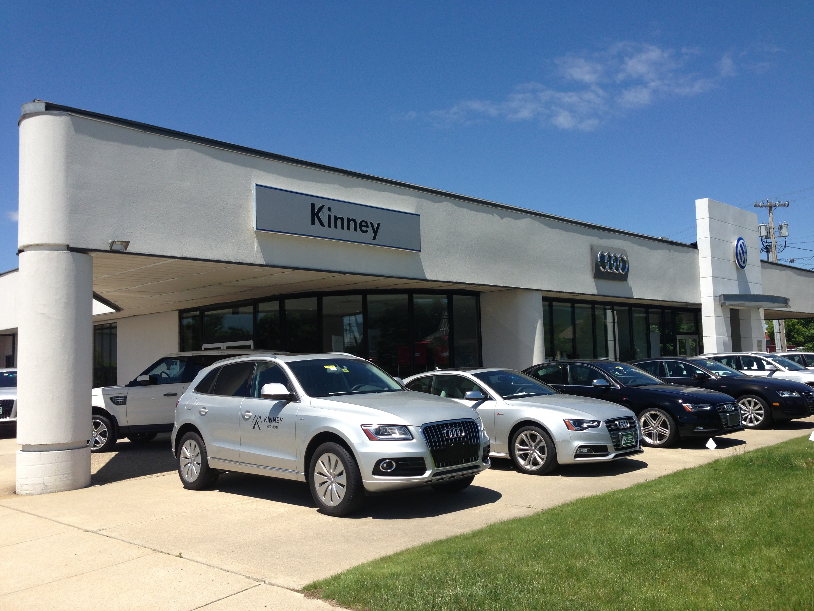 about kinney audi in rutland vt