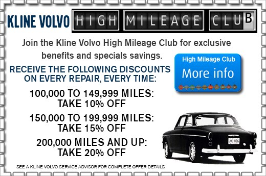 Volvo service coupons discounts